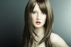 La giovane ragazza sexy Fotografia Stock