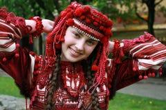 La giovane ragazza ucraina Fotografia Stock Libera da Diritti