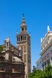La Giralda башни колокола, Севил, Испания Стоковые Изображения