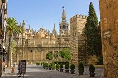 La Giralda. View on La Giralda, Sevilla, Spain Royalty Free Stock Photography