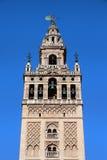 La Giralda Bell Tower in Seville Stock Photos