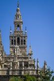 La Giralda Bell Tower of Seville Royalty Free Stock Photos