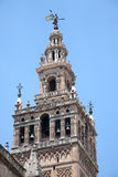 La Giralda cathedral belltower in Seville Stock Images