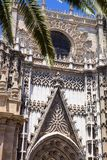 La Giralda Cathedral, in Sevilla, Spain Royalty Free Stock Photos