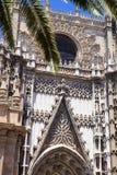 La Giralda Cathedral, in Sevilla, Spain Royalty Free Stock Photos