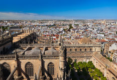 La Giralda da catedral em Sevilha Spain Imagem de Stock Royalty Free