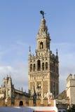 La Giralda, Sevilha Fotos de Stock Royalty Free