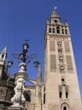 la giralda Sevilla Hiszpanii Zdjęcia Royalty Free