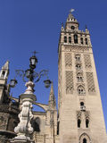 La Giralda, Sevilla, Spain. La Giralda in Sevilla, Spain Royalty Free Stock Photos