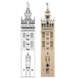 LA GIRALDA, SEVILLA. Stock Photography