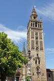 La Giralda of Seville Stock Photos
