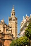 La Giralda in Seville, Spain Royalty Free Stock Photo