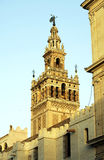 La Giralda, tower of the cathedral of Seville Stock Images