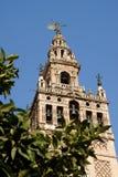 La Giralda Tower in Seville, Spain Stock Photos