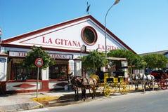 La Gitana Bodega, Sanlucar de Barrameda. Stock Photography