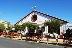 La Gitana Bodega, Sanlucar de Barrameda. Royalty Free Stock Photography