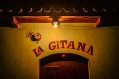 La Gitana, kleine winkel in Guatemala Stock Afbeeldingen