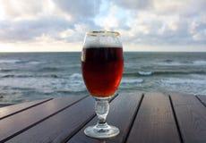 La glace de bière Photos libres de droits