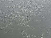 La glace vient cet hiver également en Finlande Photo stock