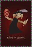 La gloire soit Pâques Photo libre de droits