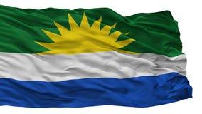 La Gloria City Flag, Colombie, Cesar Department, d'isolement sur le fond blanc illustration stock