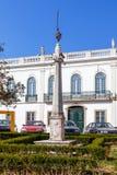 La gogna della città di Nisa ha individuato nel centro città Fotografia Stock