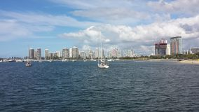 La Gold Coast Broadwater images libres de droits
