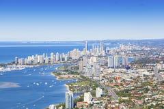La Gold Coast, Queensland, Australie Photos stock