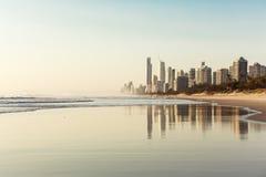 La Gold Coast, Queensland, Australie Photos libres de droits