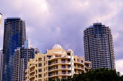 La Gold Coast, Queensland, Australie Photos stock