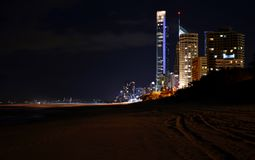 La Gold Coast, Queensland, Australie Image libre de droits