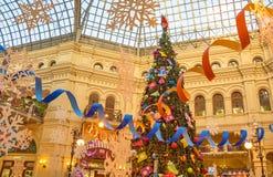 La GOMA se adorna para los días de fiesta del Año Nuevo fotografía de archivo