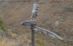 La Gomera, Canary islands,Broken Royalty Free Stock Photo