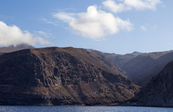 La Gomera, Canary islands, steep west coast Stock Image