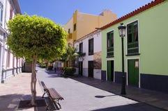 LA GOMERA DE SAN SEBASTIÁN DE; Canarias, España Foto de archivo libre de regalías