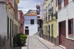 LA GOMERA DE SAN SEBASTIÁN DE; Canarias, España Imágenes de archivo libres de regalías