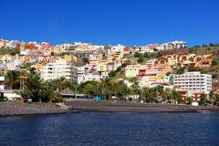 La Gomera de San Sebastian de Fotografia de Stock