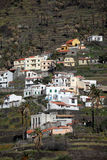 La Gomera hillside homes Stock Photos