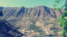 La Gomera island in Canary  Spain. Royalty Free Stock Images