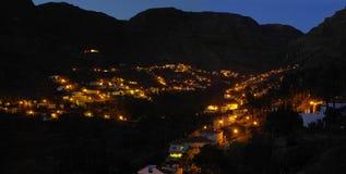 La Gomera island. The Valle Gran Rey Royalty Free Stock Photography