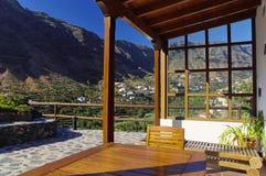 La Gomera island. The Valle Gran Rey Stock Photo