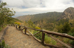 La Gomera landscape Stock Images