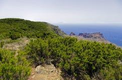La Gomera.Mirador de Alojera, Canary Stock Images
