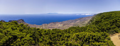 La Gomera. Mirador de Alojera, Canary Royalty Free Stock Photography