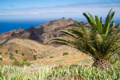 La Gomera Panorama Royalty Free Stock Images
