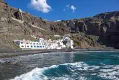 La Gomera - Playa de Alojera Immagini Stock