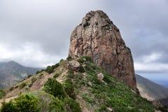 La Gomera - Roque El Cano Imagenes de archivo