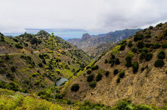 La Gomera - Roque El Cano Stock Photo