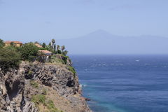 La Gomera and Tenerife Royalty Free Stock Images