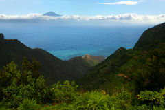 La Gomera, Tenerife royalty-vrije stock fotografie